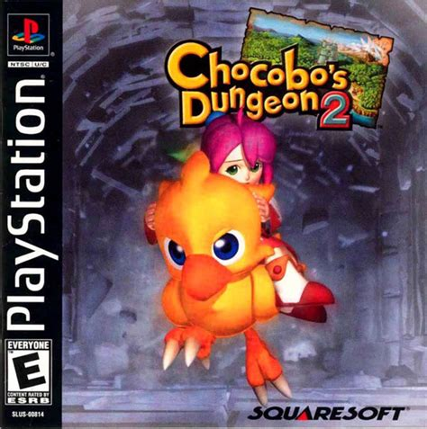 emuparadise epsxe chocobo s magical dungeon 2 u front cover