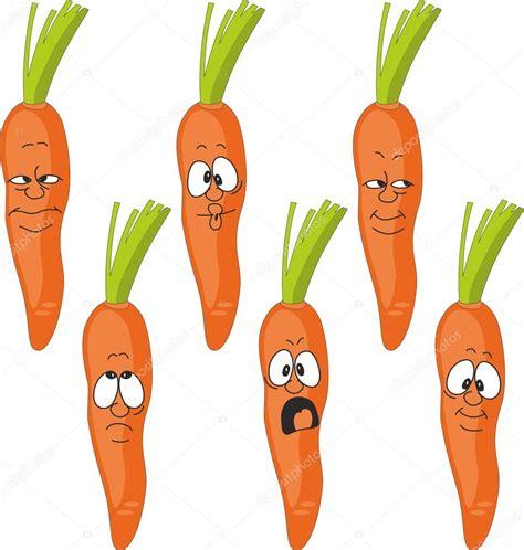 google imagenes de zanahorias vector emotion dibujos animados zanahoria conjunto