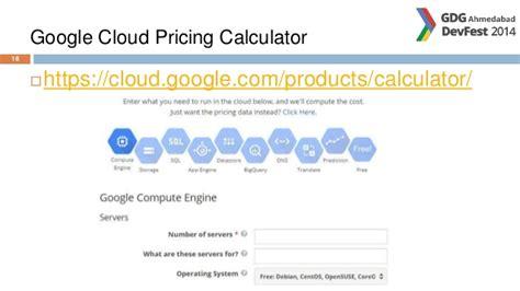 calculator google cloud powering your apps via google cloud platform