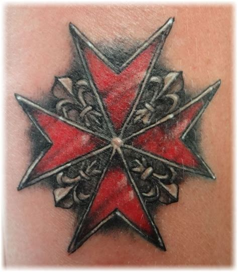25 best ideas about maltese cross tattoos on