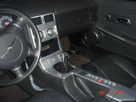 Crossfire Interior by Check Out This Center Console Page 2 Crossfireforum