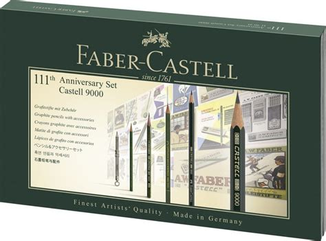 Pensil 2b Faber Castell Per 1 Lusin faber castell 111th anniversary set castell 9000 1 of 5000 ltd drawing sketch