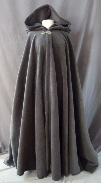 pattern for black cape weather resistant soft grey fleece hooded cloak