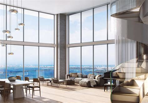 the living room miami auberge residences miami is 17 reserved in 1st week of
