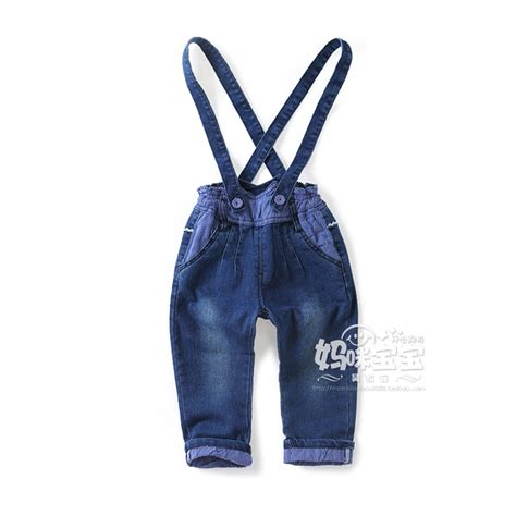 New Overall 2 1 2 5y new 2016 autumn boys denim overall baby