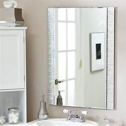 mirror ideas for bathrooms bathroom mirrors design and ideas inspirationseek