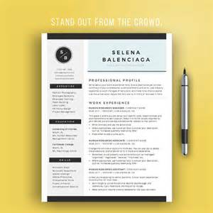Resume Layout Sle by Sale Creative Resume Template For Word Creative Cv Template
