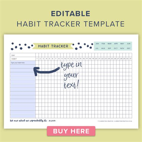 2018 the ultimate planner habit tracker and journal books this free printable habit tracker will help you reach your