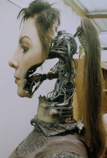 film female robot damaged fembot from ai robots pinterest beautiful