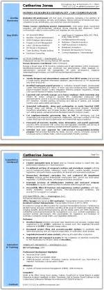 Best Resume Format For Hr Generalist by Human Resources Generalist Resume Sample