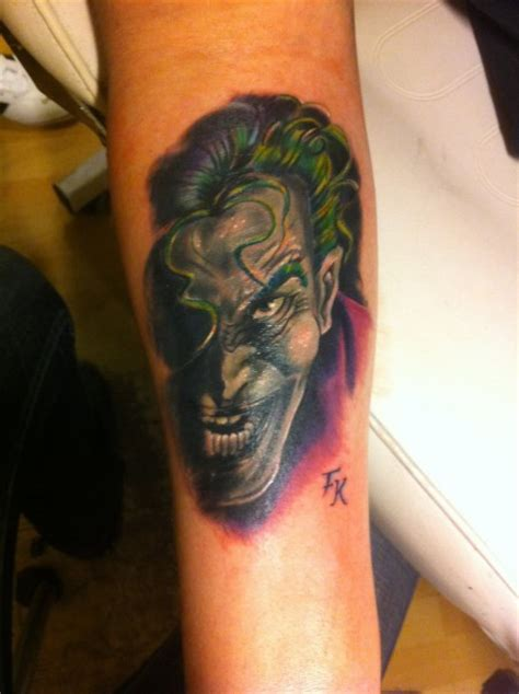 tattoo von joker orgi on tour joker tattoos von tattoo bewertung de