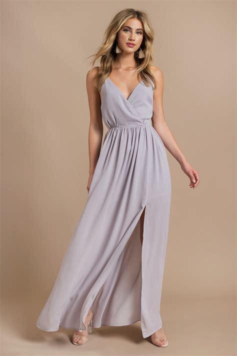 Afikha Dusty Maxi 1 blue dress plunging dress blue dress