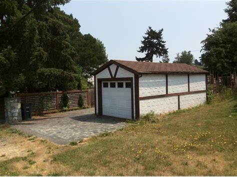 Separate Garage by Cozy Two Storey House With Separate Garage Saanich