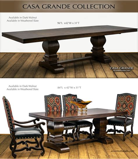 Tuscan Style Dining Tables Tuscan Dining Room Table