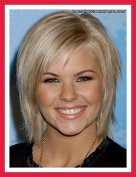 hairstyles for fine hair on round face short hairstyles for fine hair and round faces