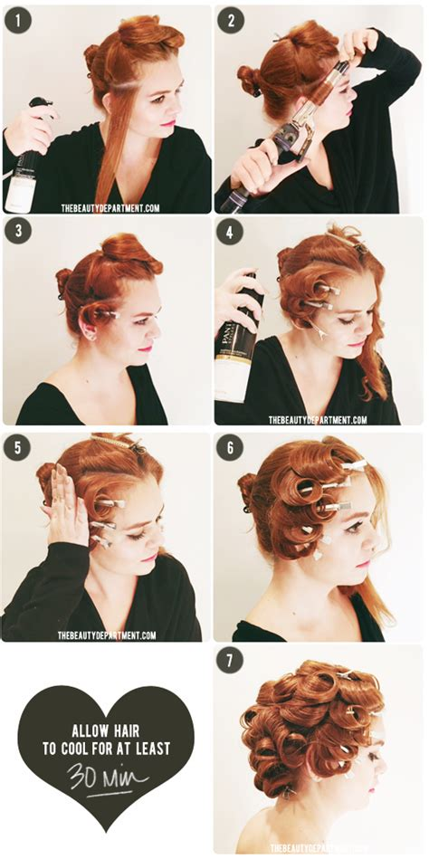 how to put rollersin extra short hair very short hair hair rollers short hairstyle 2013
