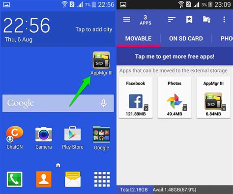 how to make apps to sd card automatically how to move android apps to sd card ubergizmo