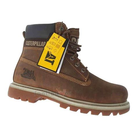 cat boots for cat caterpillar colorado 708190 mens tobacco nubuck