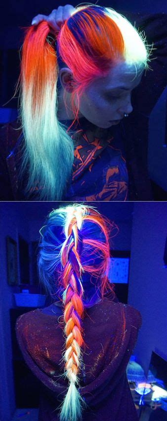 glow in the hair color 25 best ideas about awesome hair color on