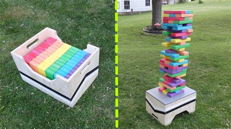 backyard jenga game 17 diy games for outdoor family fun home stories a to z