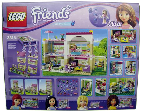 Lego Set New In Box Sealed 3315 Friends S House Retired 2012 lego friends s house 3315 new sealed in box my generation toys