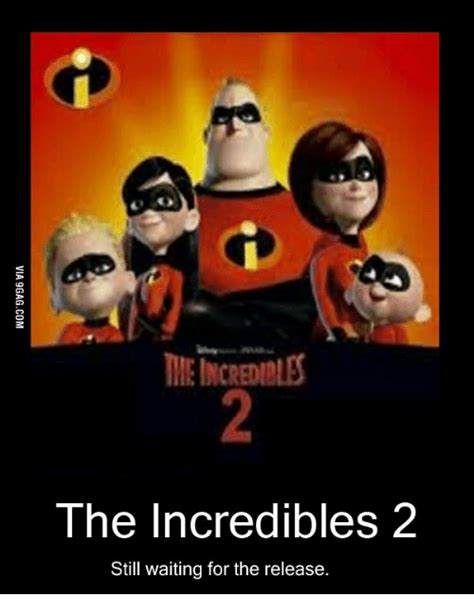 The Incredibles Memes - the incredibles 2 still waiting for the release the