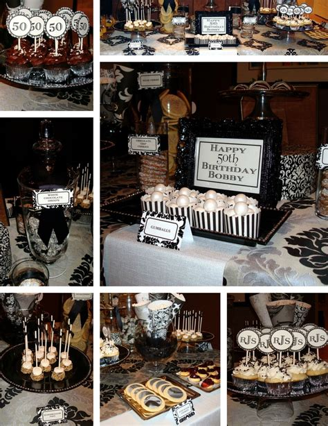 birthday themes male decoration 50th birthday party ideas for men 50th