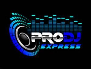 pro dj express logo design 48hourslogo com