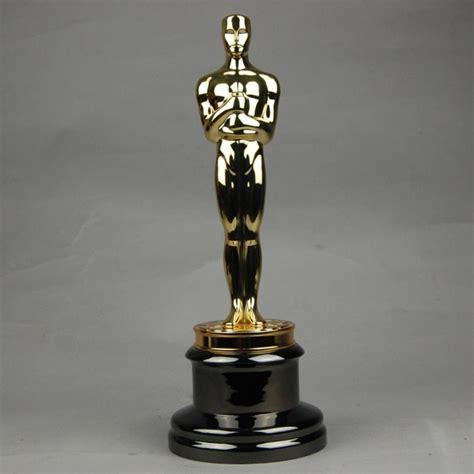 film 1 oscar gratis replica oscar trophy award metal scale 1 1 13 5inches