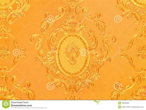 wallpaper old gold old gold wallpaper royalty free stock photos image 18999268