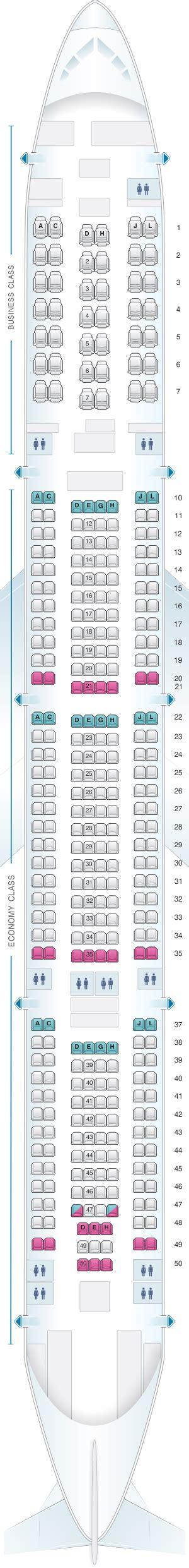 iberia airbus a340 500 seat map seat map iberia airbus a340 600 342pax seatmaestro