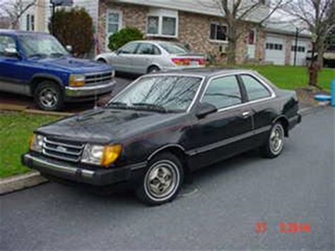 how cars work for dummies 1984 ford tempo engine control chevyssuck05 s 1984 ford tempo in germansville pa