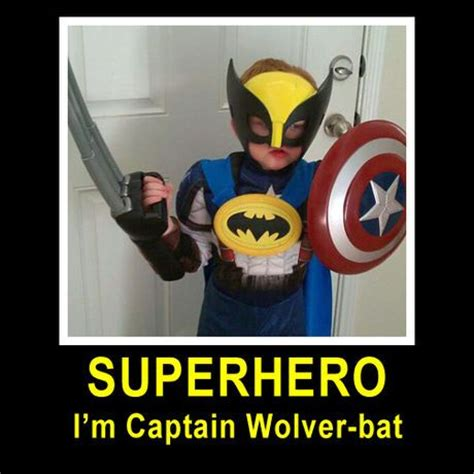 Superhero Memes - captain wolver bat smash hilarious pinterest my