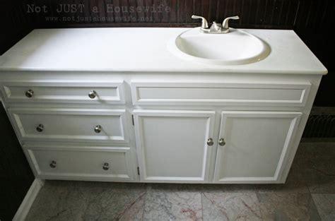 update old bathroom vanity my vintage bathroom gets and update not just a housewife