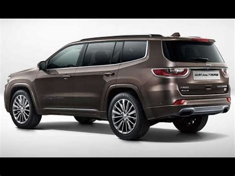2019 Jeep 7 Passenger by 2019 Jeep Grand Commander 7 Seater Suv Detailed