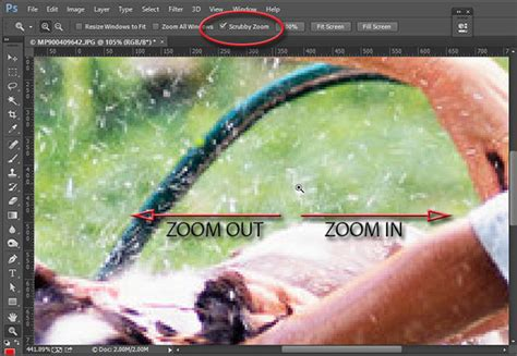 Zoom Pattern Photoshop | designeasy what is doing scrubby zoom in photoshop cc