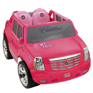 Power Wheel Cadillac Escalade Pink Cool Design