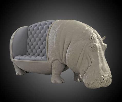 hippo chair hippopotamus sofa dudeiwantthat com