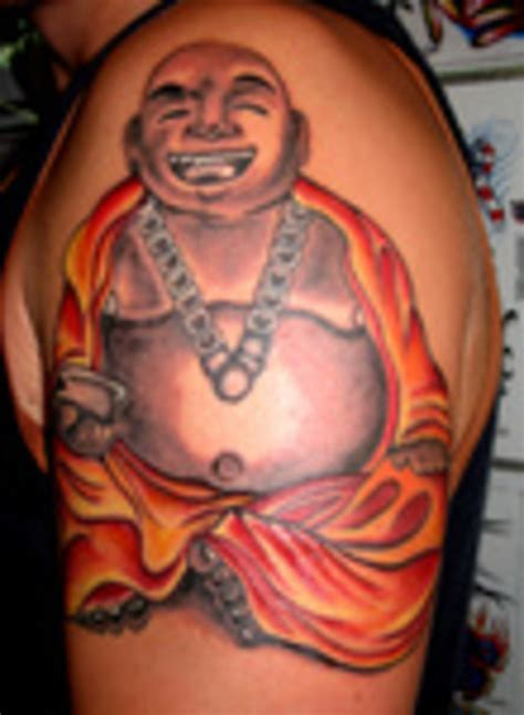 fat buddha tattoo buddha on shoulder 187 ideas