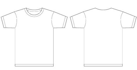 Shirt Design Vorlage Blank Tshirt Template Pdf Studio Design Gallery
