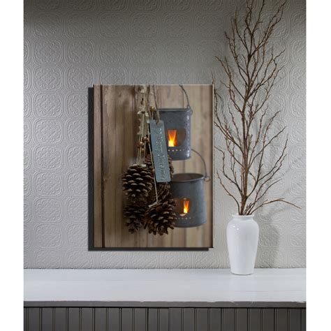 Led Light Wall Decor by Wonderful Led Lighted Canvas Wall