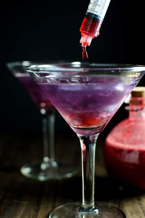 martini purple the witch s heart halloween cocktail the flavor bender