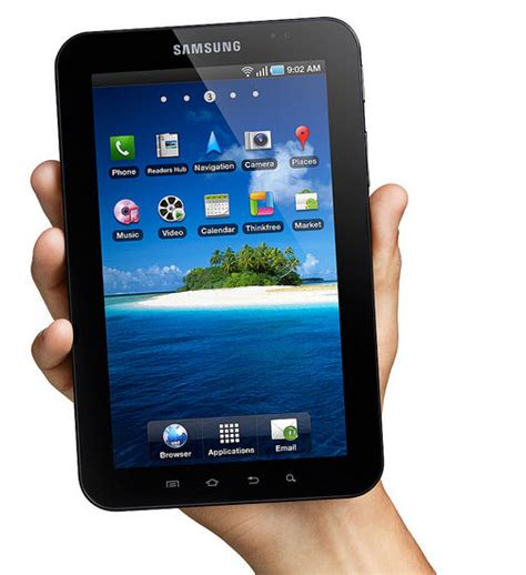 samsung galaxy android based tablet