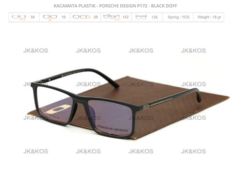 Kacamata Porsche Design frame kacamata baca merk porsche design p172