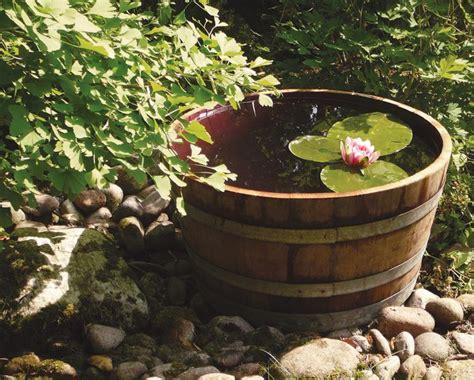 Wasserstellen Im Garten 2107 by Miniteich Auf Balkon Und Terrasse Sch 214 Ner Wohnen