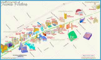 Map Las Vegas Strip by Las Vegas Map For Tourist Travel Map Vacations