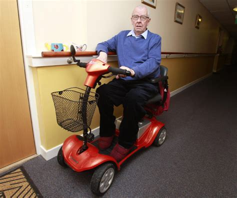 link housing mobility scooter ban could leave possilpark residents housebound
