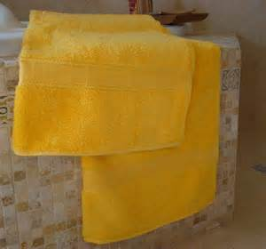 bath towels yellow 100 cotton xtra soft new yellow bath towels ebay