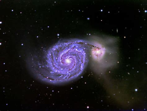 whirlpool galaxy image gallery messier 51