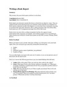 how to prepare a book report fig 1 how to write a book report best photos of format for writing a book book writing